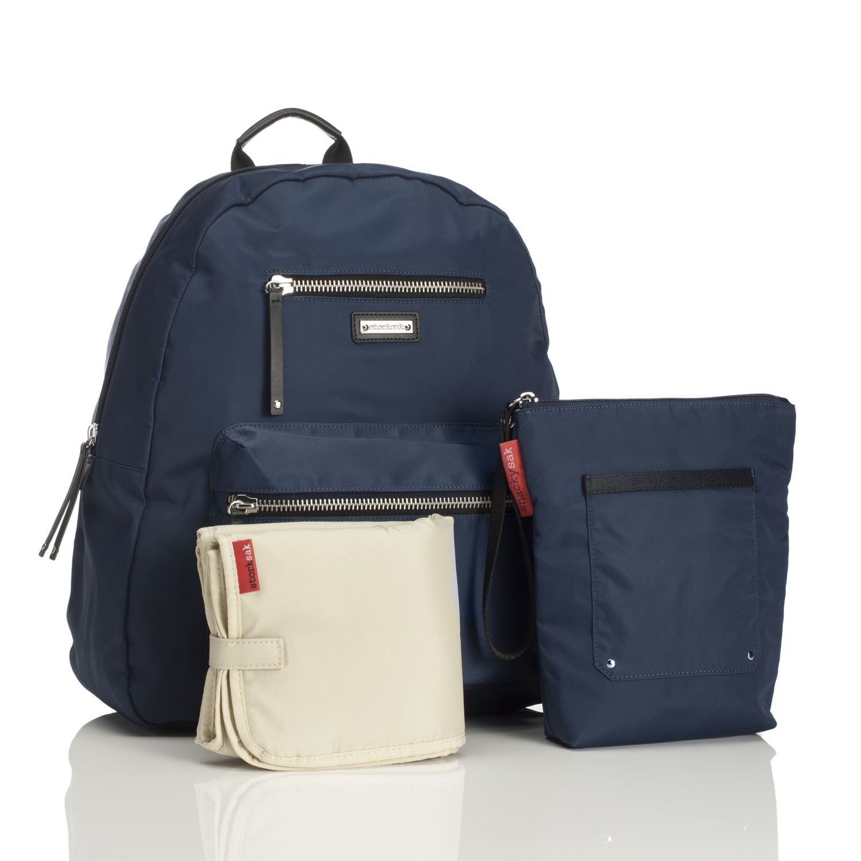 Pusletaske rygsæk fra Storksak - Charlie Navy