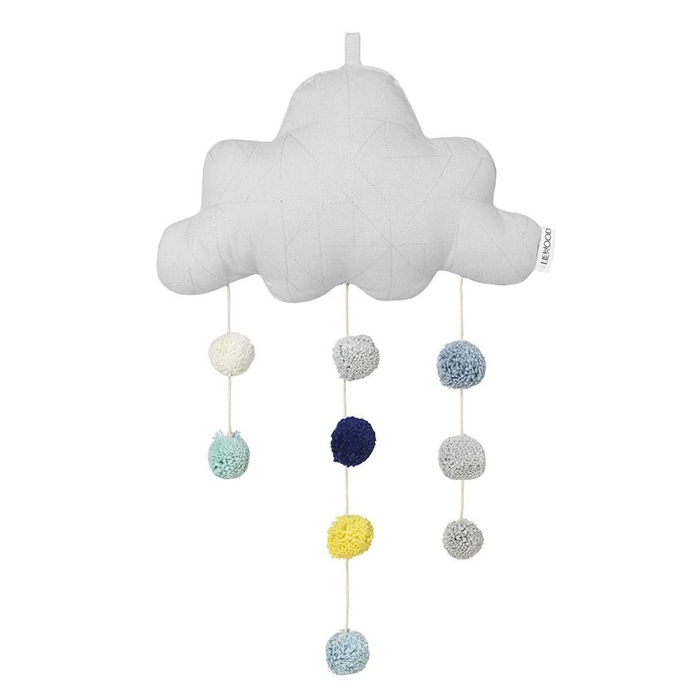 Image of   Uro fra Liewood - Clara Cloud Mobile - Dumbo Grey - Stor