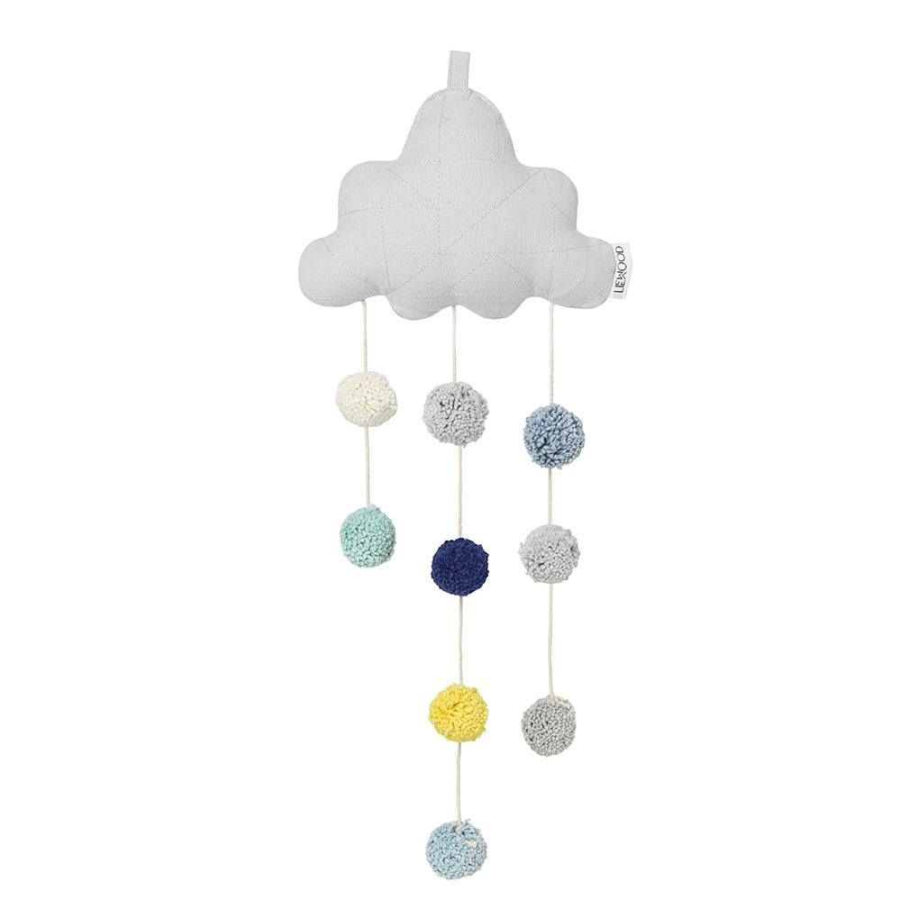 Image of   Uro fra Liewood - Clara Cloud Mobile - Dumbo Grey - Lille