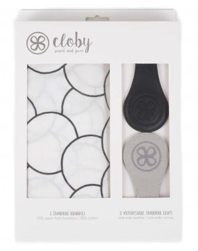 Svøb og magnetiske universal clips fra Cloby - Black (3-pak)