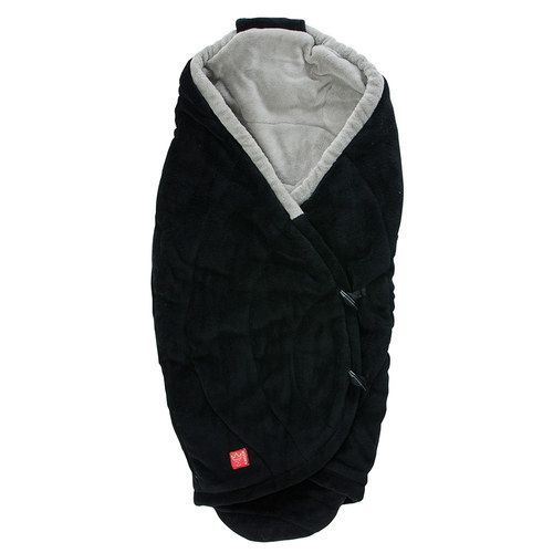 Image of   Baby cuddle wrap fra Kaiser - Cooco - Black/Light Grey