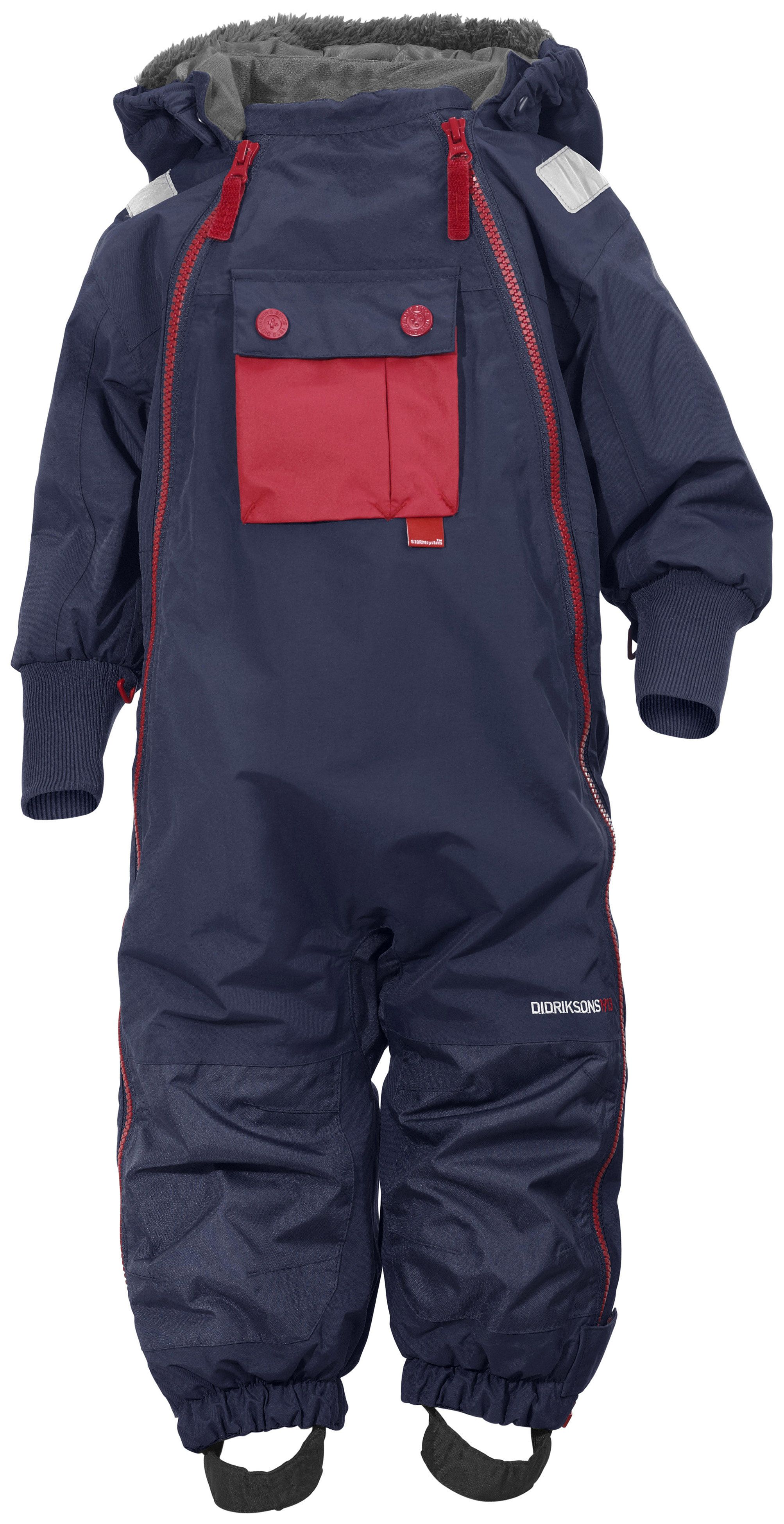 Image of Flyverdragt fra Didriksons - Coso - Navy (500394-039)