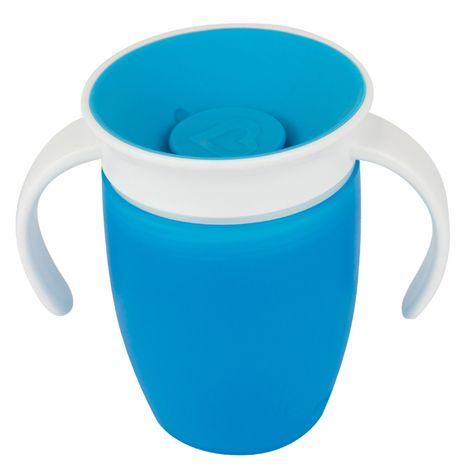 Image of   Drikketræner fra Munchkin - Spildfri - Miracle 360Trainer Cup - Blå