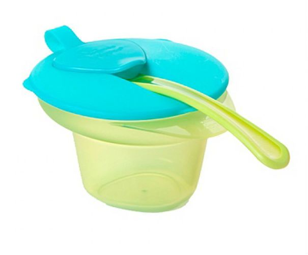 Image of   Cool & Mash Bowl fra Tommee Tippee - Turkis (4m+)