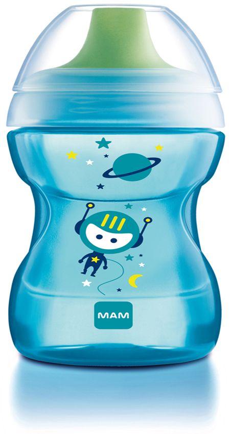 Drikkekop fra mam - fun to drink cup (8m+) - ocean fra Mam på babygear.dk