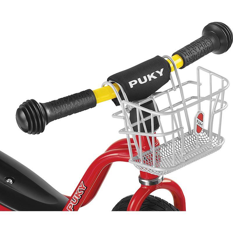Image of Cykelkurv i stål til løbecykel - PUKY LKL - Sølv (00009109)