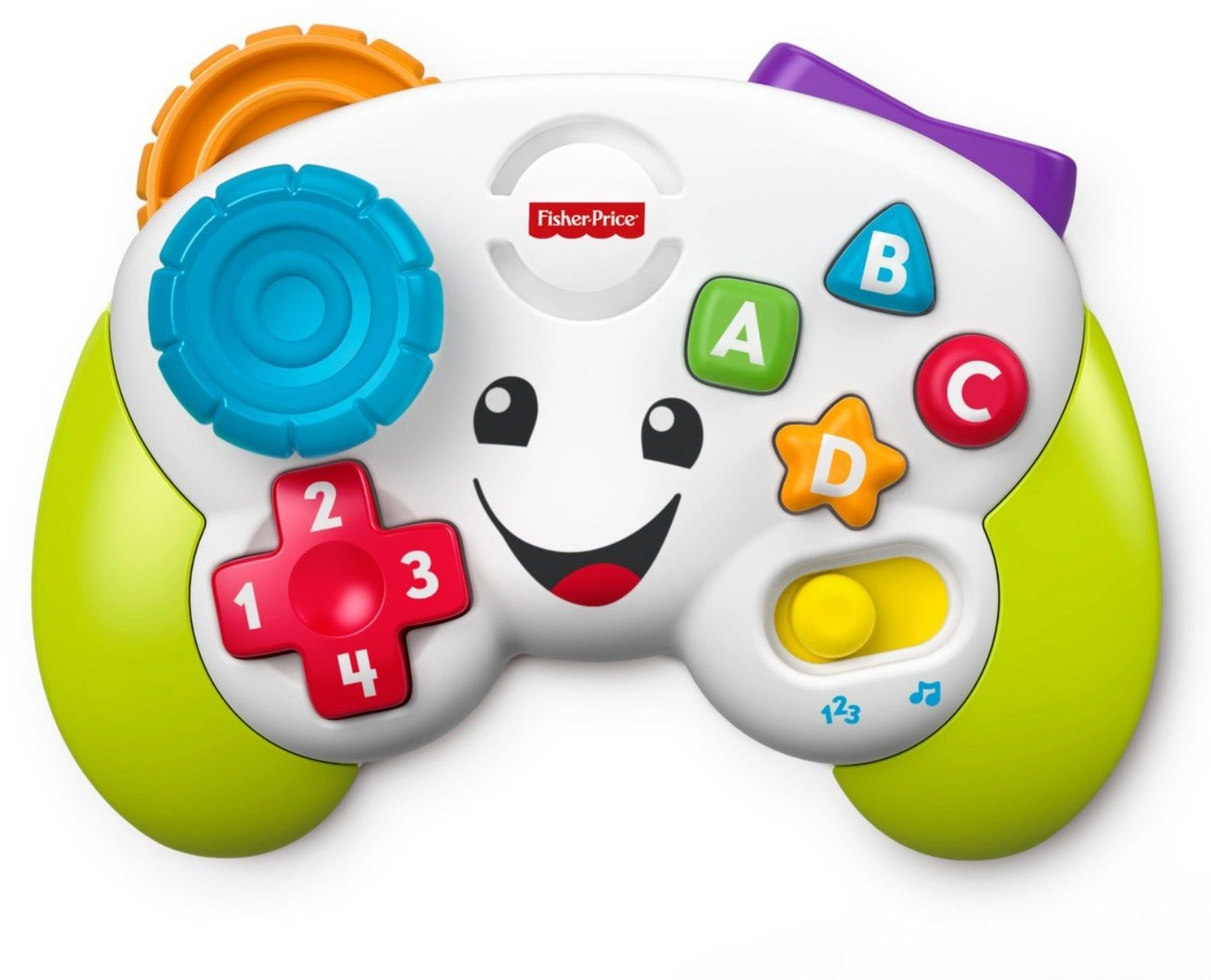 Image of Controller m. lys og lyd fra Fisher-Price - Laugh N Learn Controller (FPLL-TOY19.)