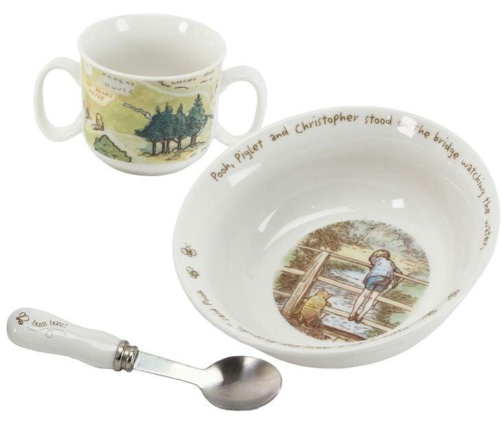 Spisesæt i keramik - Disney Peter Plys