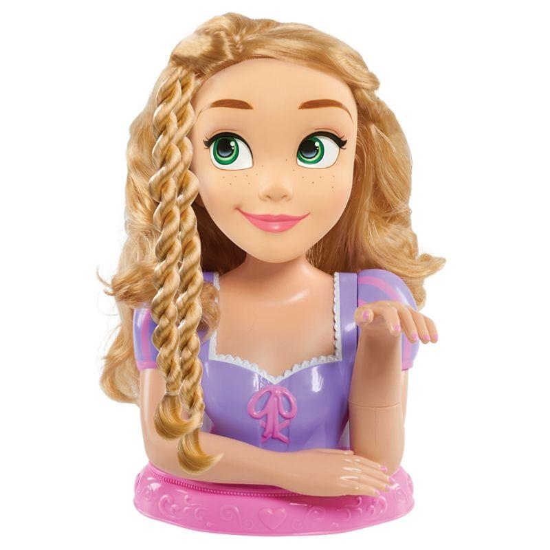 Image of Disney Princess Rapunzel Deluxe Styling Head m. tilbehør (FLR-TOY32)