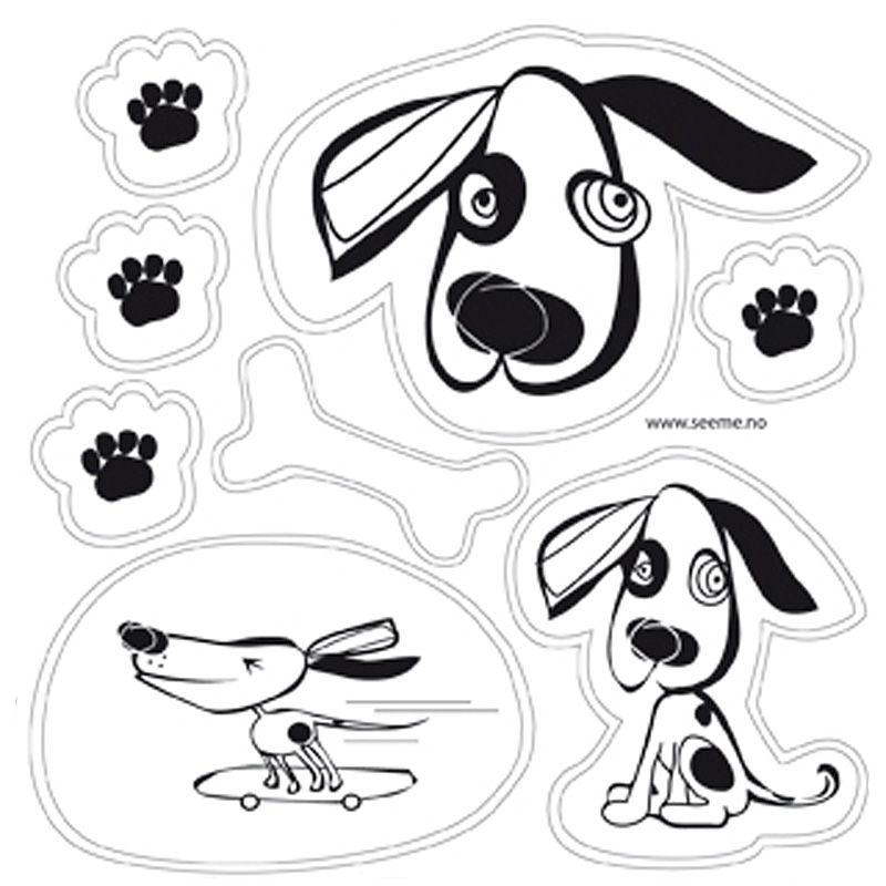 Image of Selvklæbende refleks - Dogs fra SeeME (7070581000105)