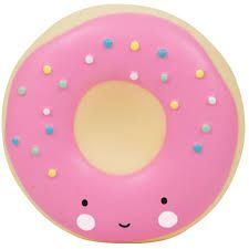 Image of Sparebøsse fra A Little Lovely Company - Pink Donut (MBDOPI07)