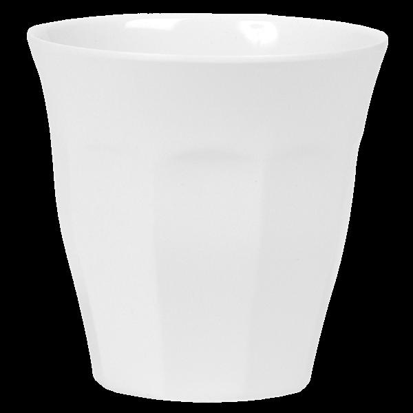 Image of   Krus i melamin fra RICE - Medium - Hvid