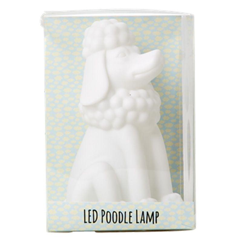 Image of   LED lampe m. farveskift fra Rice - Hund (15 cm)