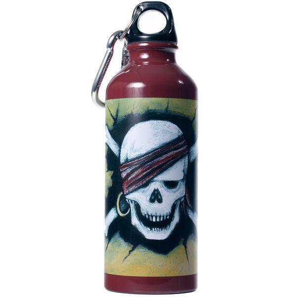 Image of   Drikkeflaske fra Trolde og Eventyr - Aluminium - Pirat