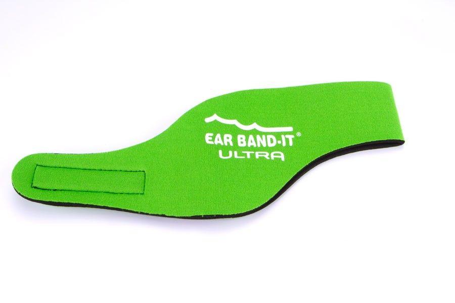 Ear band-it Earband-it ultra kit - undgå vand i ørerne - grøn fra babygear.dk