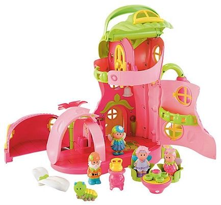Image of   Dukkehus fra Early Learning Centre - Happy Land Fairy Boot