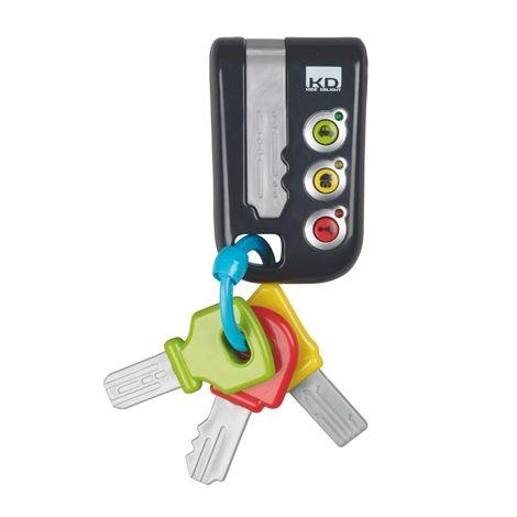 Image of Nøglesæt fra Early Learning Centre - Lights and Sounds Keys (ELC-TOY01)