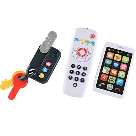 Image of   Baby Gadgets fra Early Learning Centre - My Gadget Set - Sort