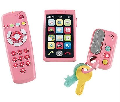Image of   Baby Gadgets fra Early Learning Centre - My Gadget Set - Pink