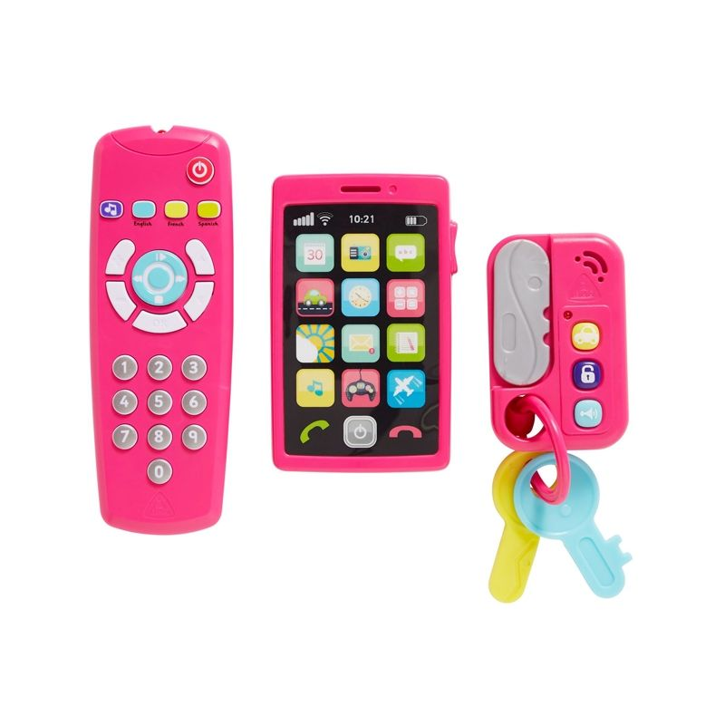 Image of Baby Gadgets fra Early Learning Centre - My Gadget Set - Pink (ELC-TOY08)