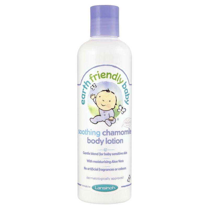 Lansinoh Body lotion fra earth friendly baby - kamille (250ml) på babygear.dk