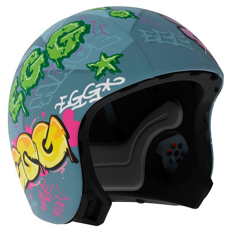 Skin / overtræk til cykelhjelm fra EGG - Igor