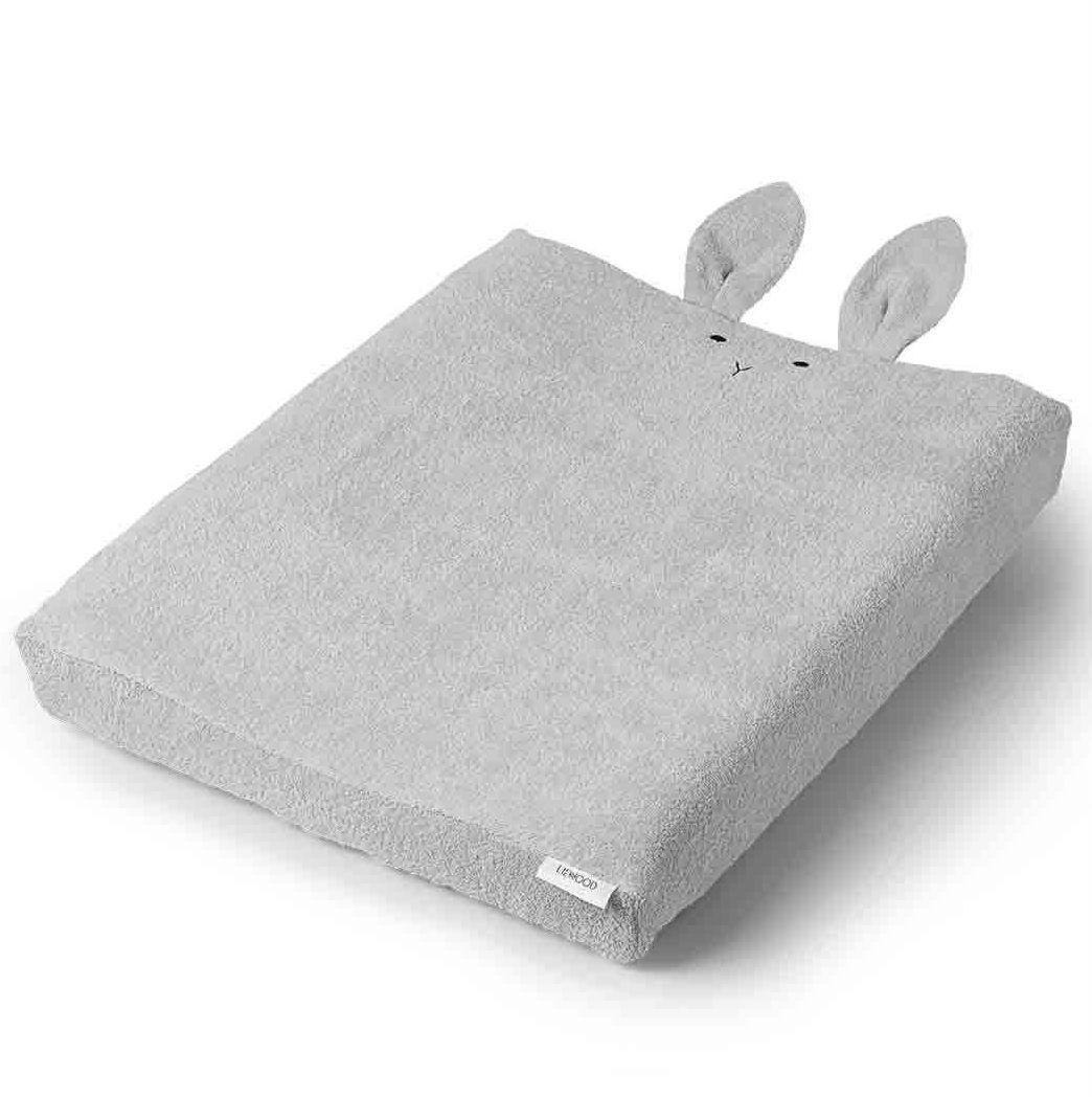 Billede af Betræk til puslepude fra Liewood - Egon - Rabbit Dumbo Grey