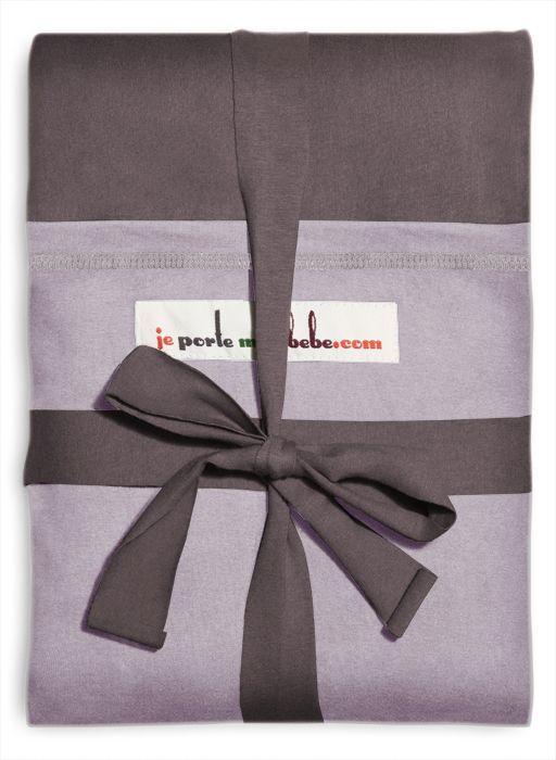 Image of   Stræk vikle fra Je Porte Mon Bébe - Orginal - Bordeaux m. lavendel