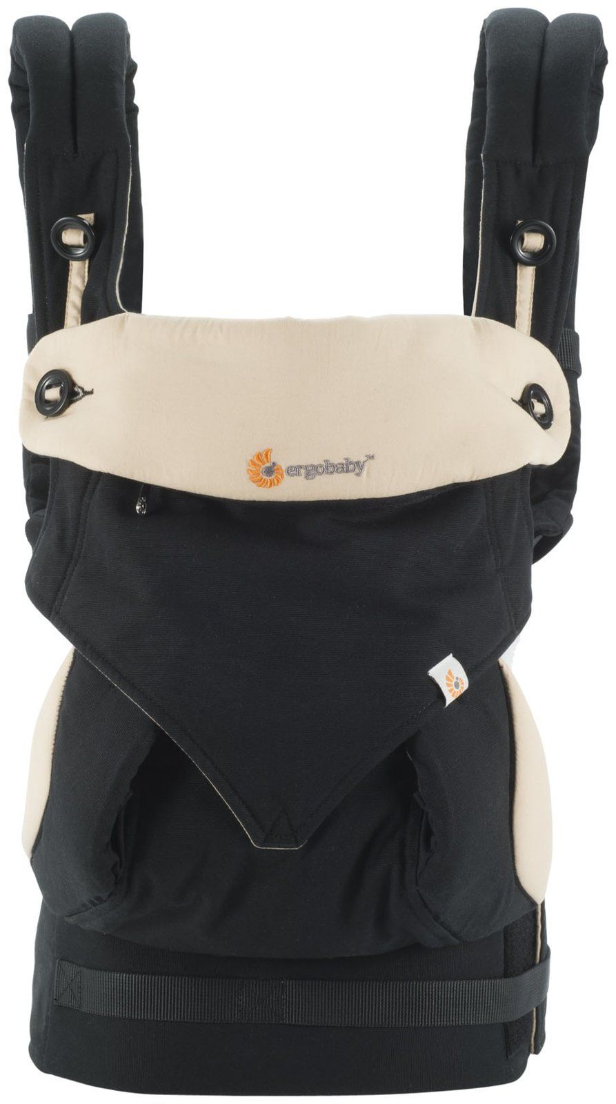 Image of   Bæresele fra Ergobaby - Four Position 360 - Black / Camel