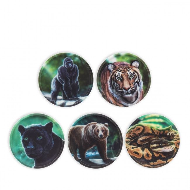 Image of Badges til Ergobag skoletaske - Kletties - Jungle (ERG-KLE-001-053)