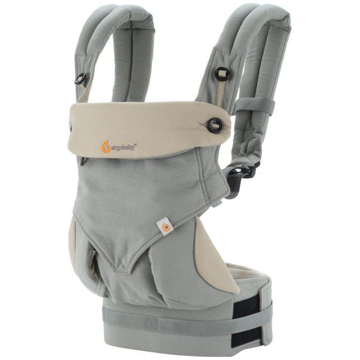 Image of Bæresele fra Ergobaby - Four Position 360 - Grey/Taupe (845197043870)