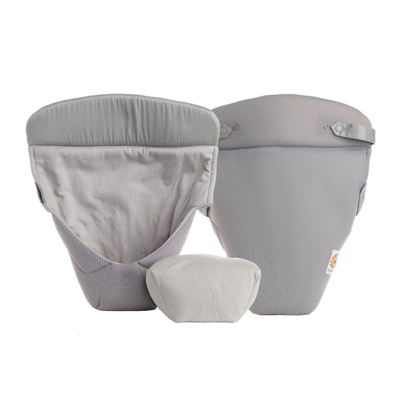 Image of   Baby indsats fra Ergobaby - Easy Snug - Cool Air - Grå