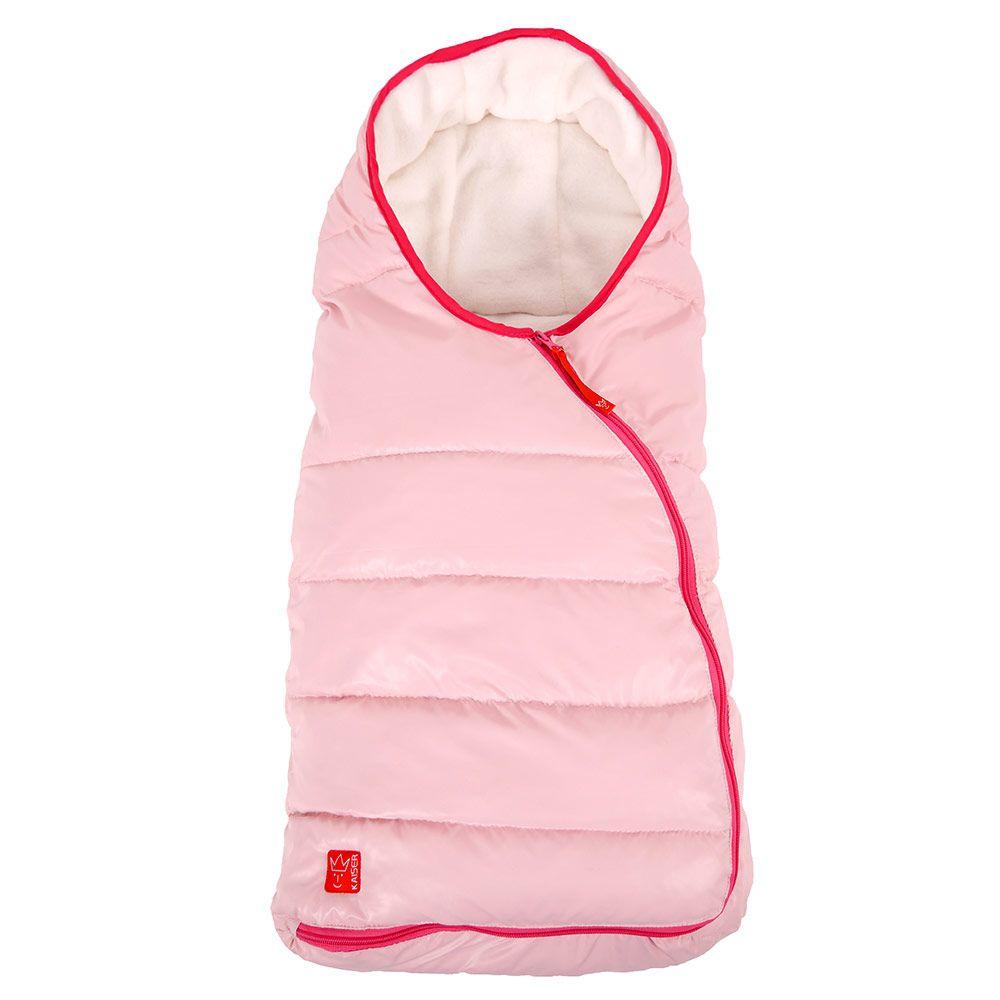 Baby kørepose fra Kaiser (Öko-Tex) - ESKIMO - Rose
