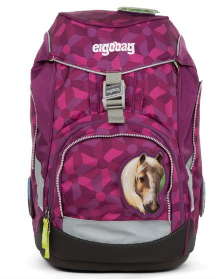 Billede af Skoletaske fra Ergobag - Prime - Flower Wheel Purple