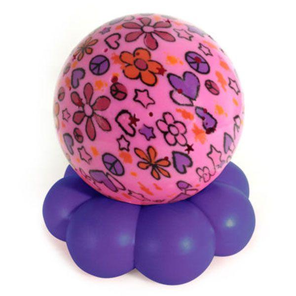 Image of Natlampe fra Cloud b - Groovy Globe - Pink Flowers (872354009004)