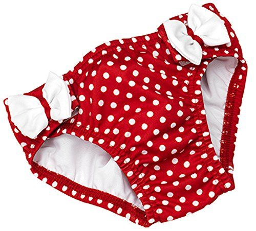 Image of   Badeble fra Fashy - Polka Dots and Bow - Rød