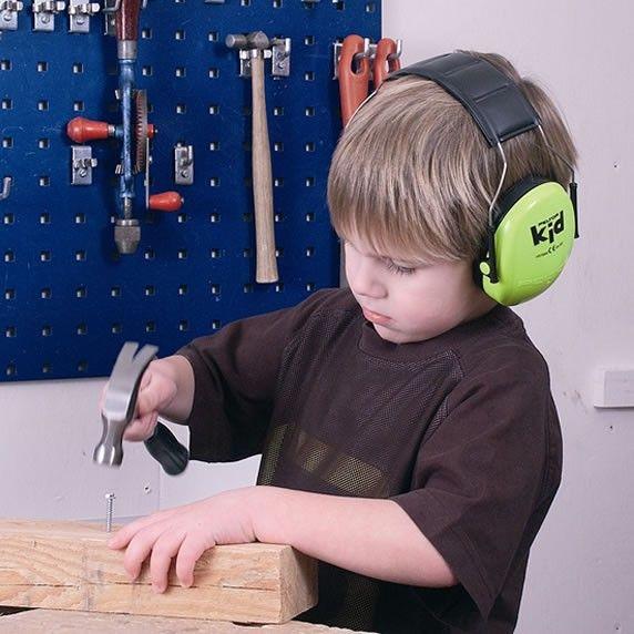 Image of Peltor Kids Høreværn - Neon Green (7318640056275)