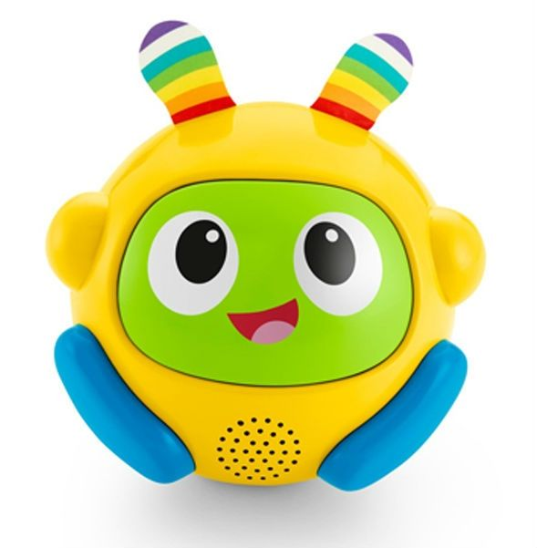 Image of Kravle-træner - Spin and Crawl Tumble Ball fra Fisher-Price - Gul (FP-TOY22_Gul)