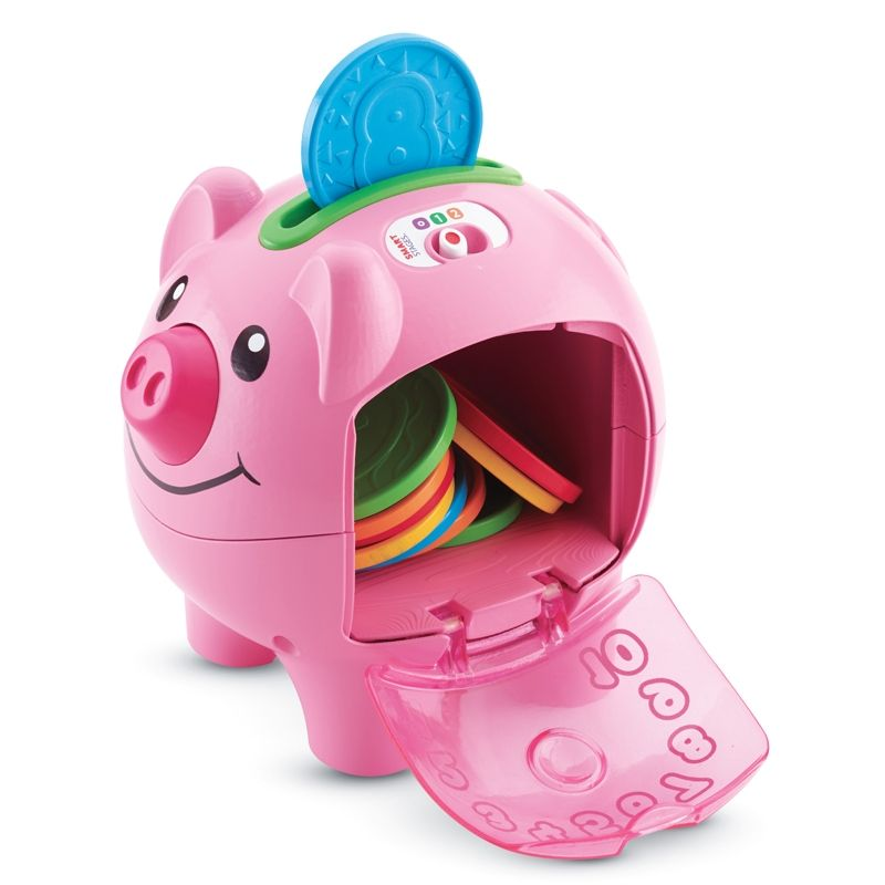 Image of   Sparegris fra Fisher-Price - Laugh & Learn Piggy Bank
