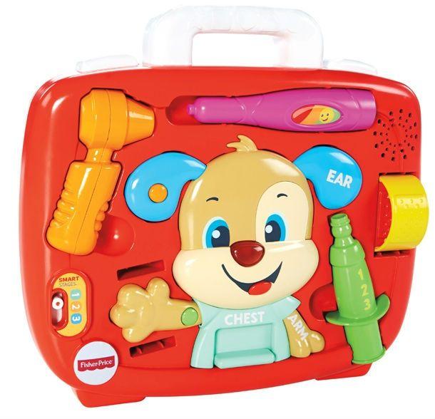 Image of   Puppys Check-Up Kit fra Fisher-Price - Interaktivt lægesæt