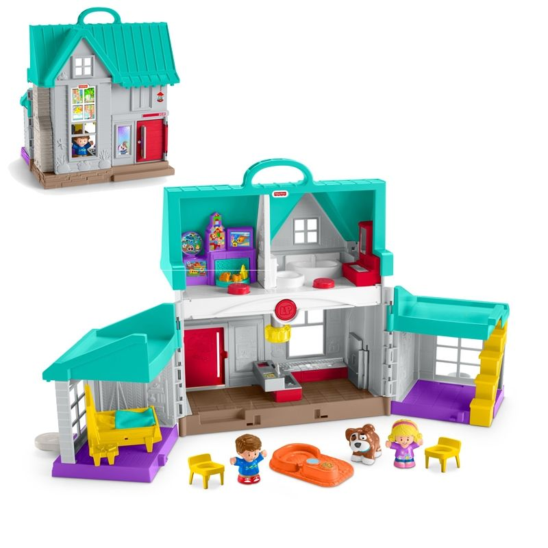 Dukkehus m/lys og lyd fra Fisher-Price - Little People Home