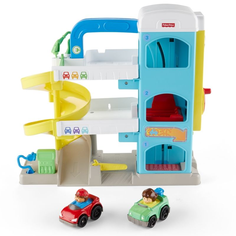 Image of Garage fra Fisher-Price (FPLP-TOY02)