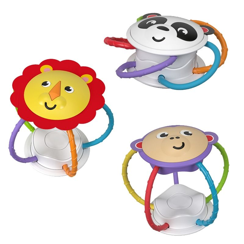 Image of Rangle fra Fisher-Price - Twist and Turn Rattle (1 stk) (FP-TOY30)