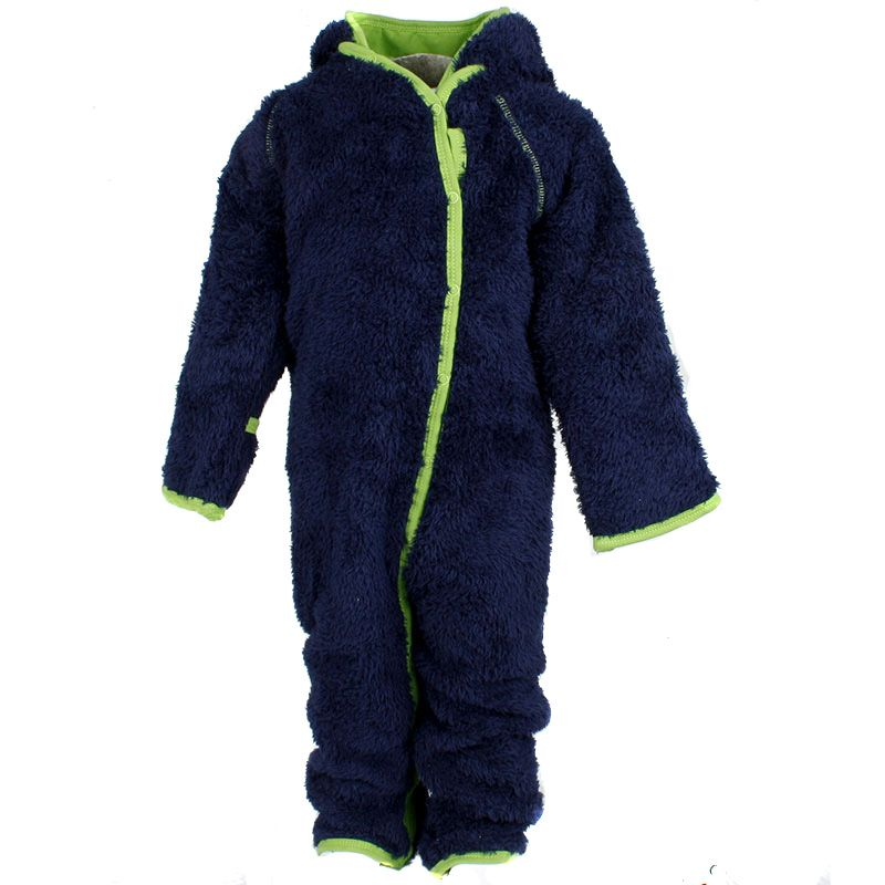 Image of   Fleece dragt fra Pippi - Teddy fleece - Navy