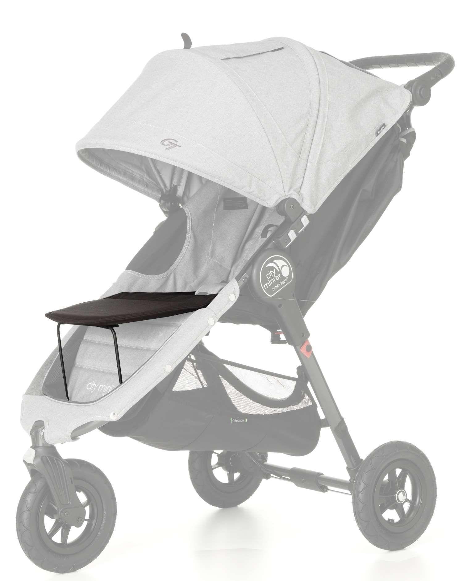 Universal fodstøtte til Baby Jogger - Footrest all Black