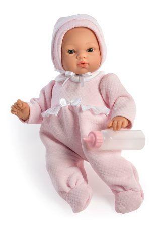 Image of Babydukke fra Así - Blød krop og sutteflaske - Koke pige (36 cm) (24404540)