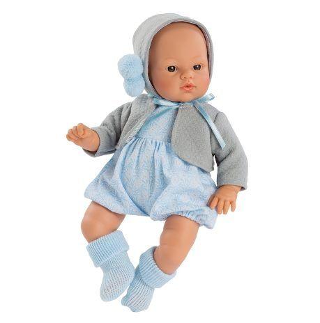 Image of Babydukke fra Así - Blød krop - Koke dreng i sommerdragt (36 cm) (24404311)