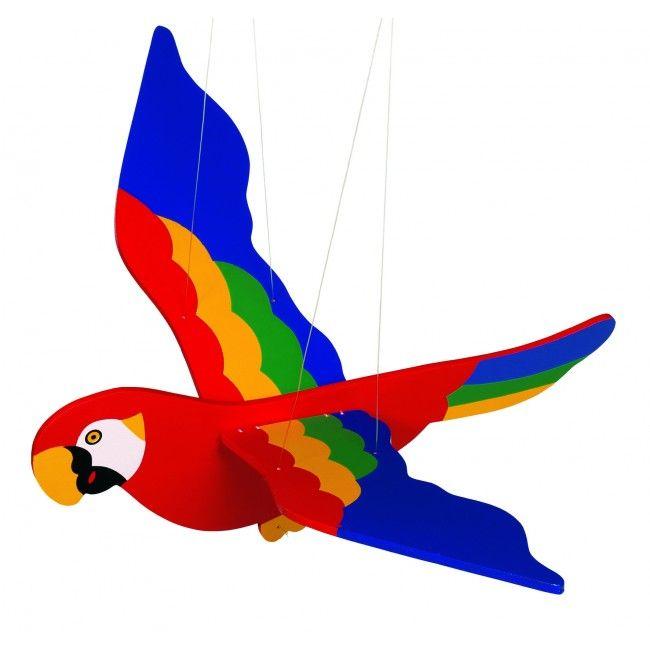 Image of   Uro fra Goki - Flyvende papegøje (50 cm)