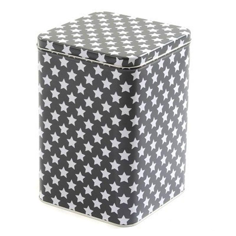 Billede af Metaldåse fra Smallstuff - Mørkegrå (stor)