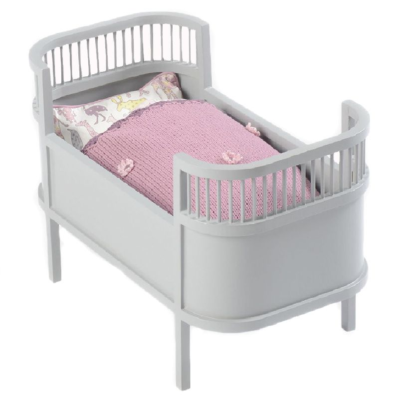 Image of Dukkeseng fra Smallstuff - Rosaline - Soft Grey (51000-09)